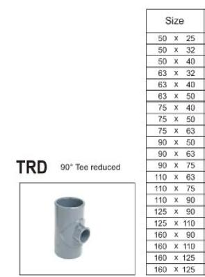 Tee-reducer